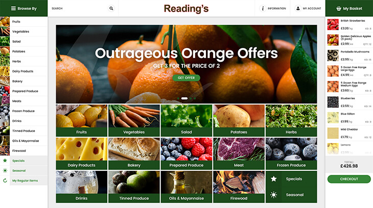 Reading's Greengrocers